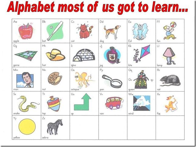 Stara školska abeceda